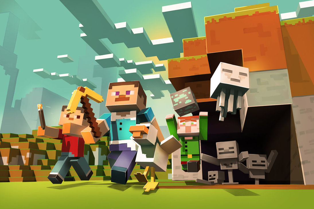 Minecraft is now available for cross-play on any device