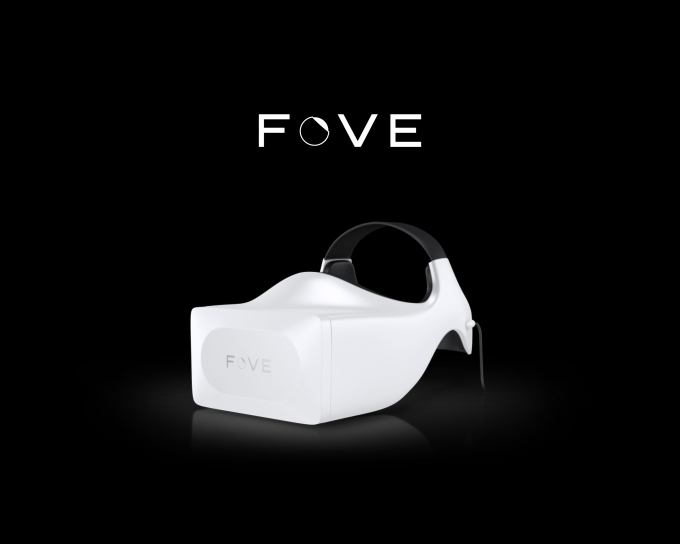 FOVE with logo