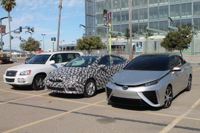 Toyota Fuel Cell cars