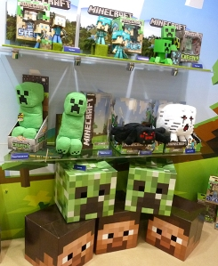 minecraft_toy_display