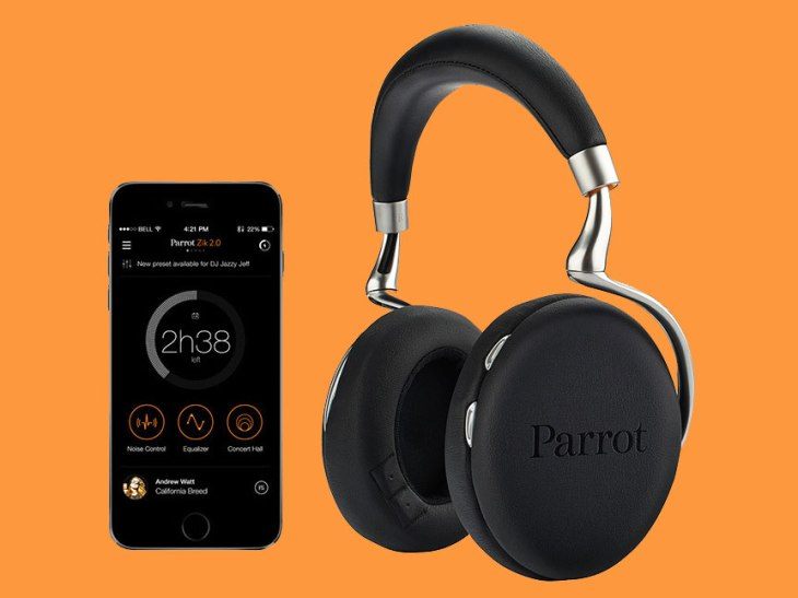 Parrot's New Zik 2 0 Headphones Are Perfect For Hipsters | TechCrunch