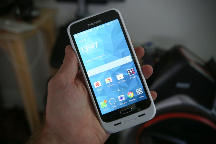 Mophies Samsung Galaxy S5 Juice Pack Gives You Ample Smartphone