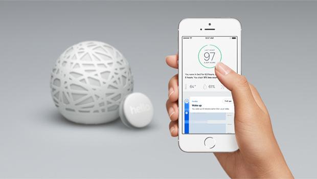 Sense app on smartphone