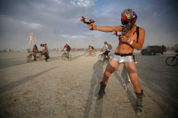 Video naked men burning man festival items
