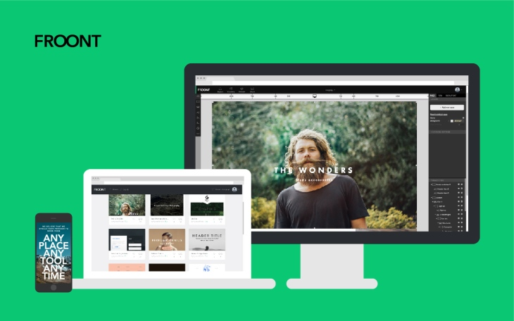 Froont Wants To Make Sharing Responsive Web Design As Easy As Sharing Code Techcrunch