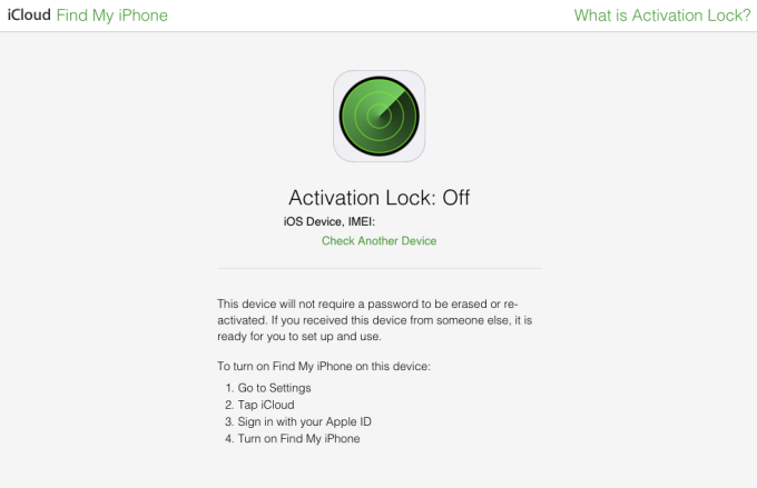 Apple Now Lets You Check If An iPhone Is Stolen Before You