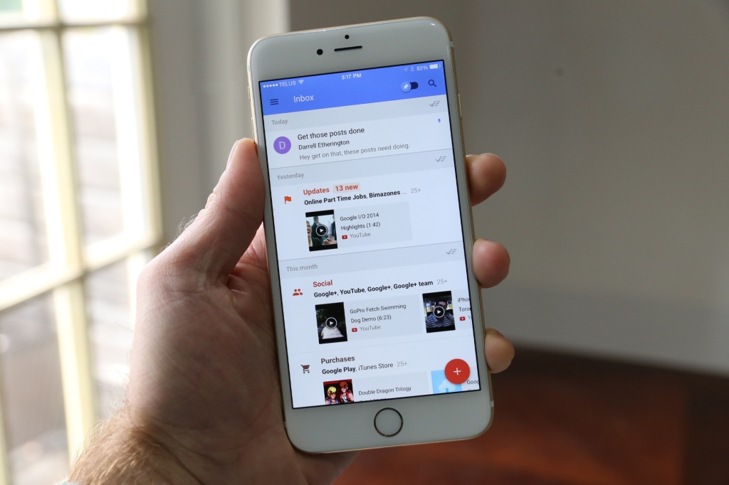 Hands On With Google Inbox: Useful Email Triage Tools For A