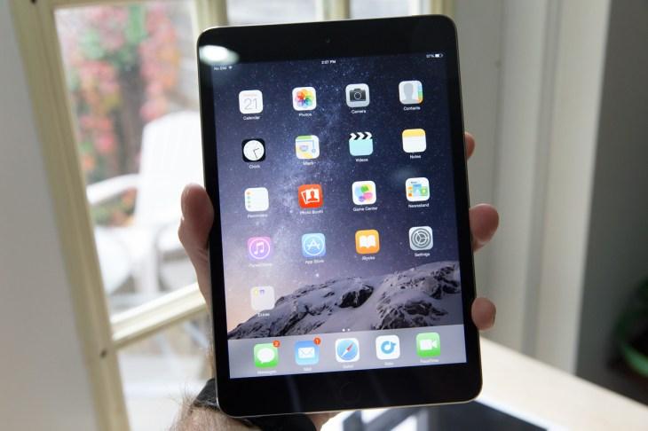the ipad mini isn t receiving any update techcrunch