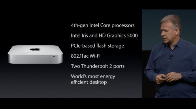 mac mini front