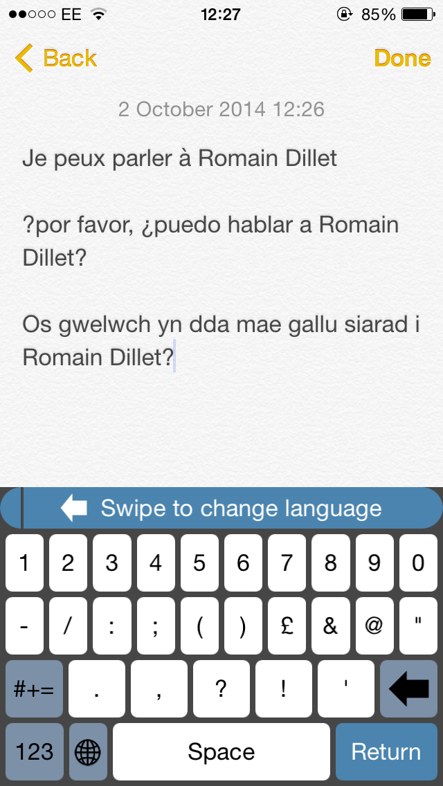 Translator Keyboard For iOS Makes Writing Foreign Missives A
