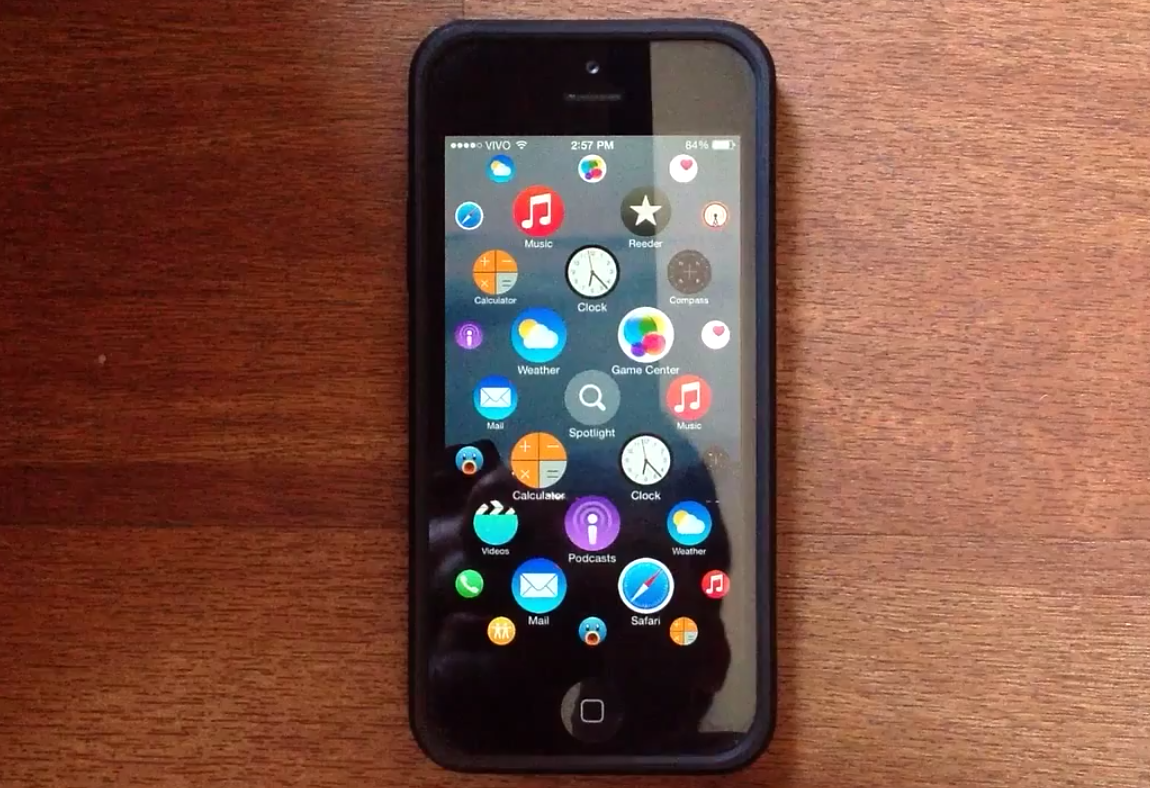 this is what the apple watch interface looks like on an