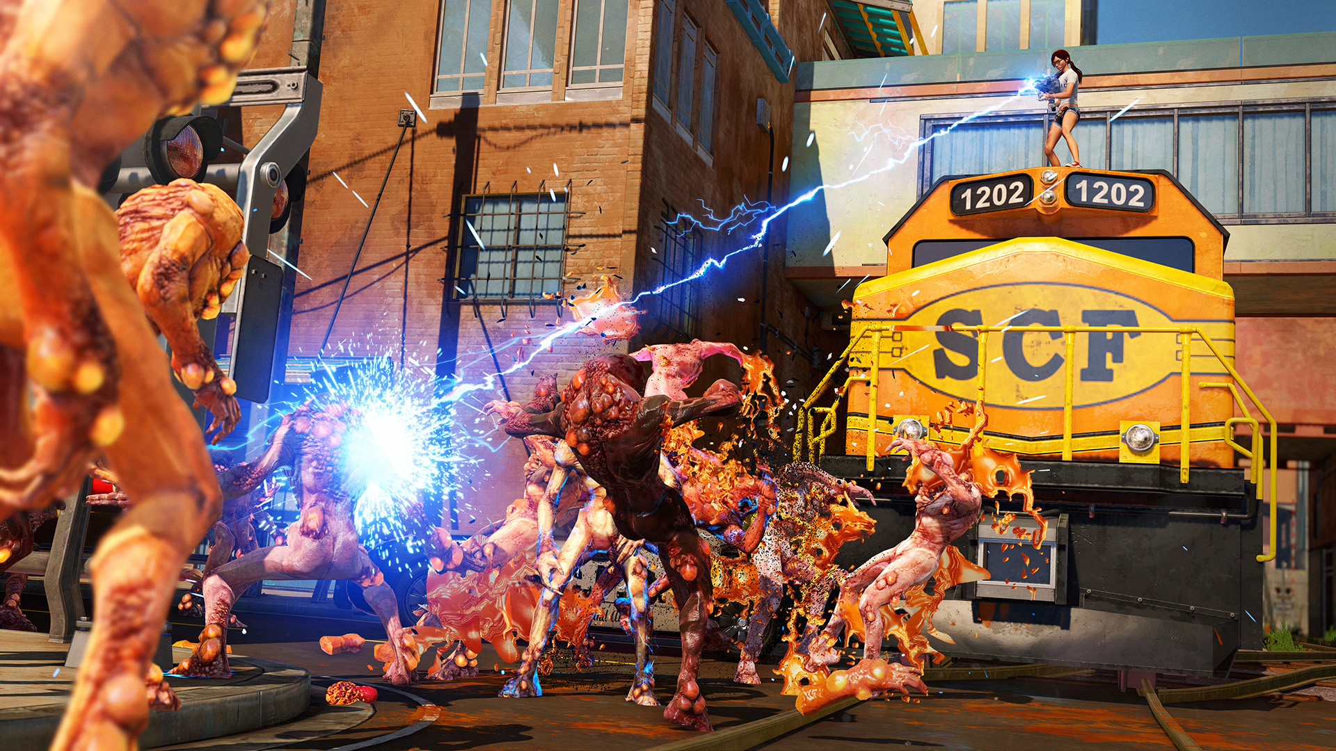 Sunset Overdrive Review A Genuinely Fun Game Once You