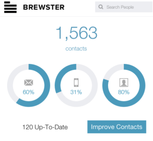 Your Contacts Data Visualization