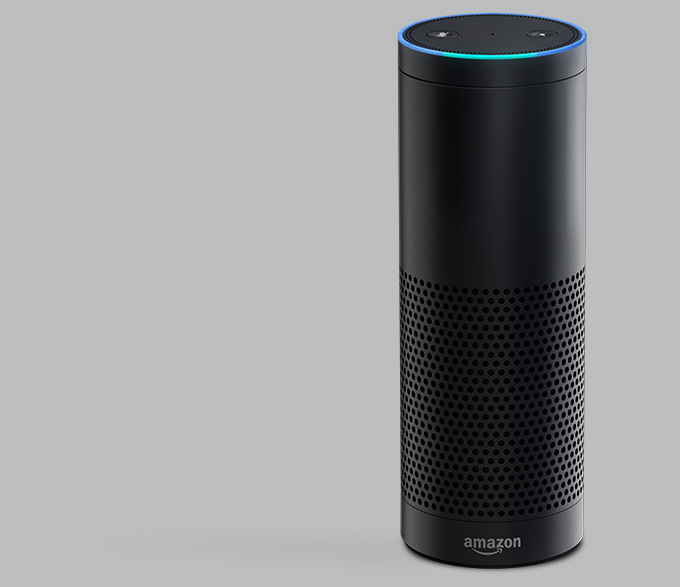 amazon echo is a 199 connected speaker packing an always on siri style assistant techcrunch. Black Bedroom Furniture Sets. Home Design Ideas