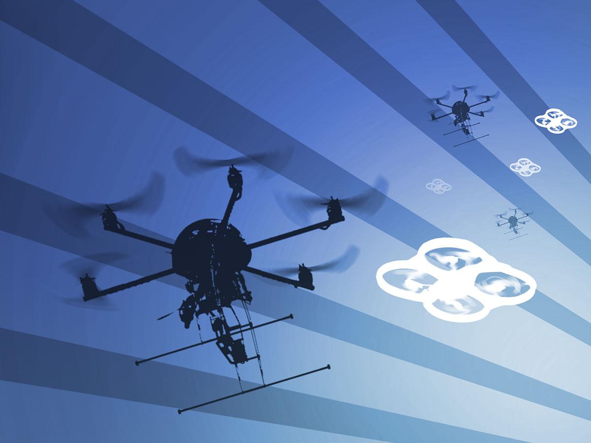 DARPA wants new ideas for autonomous drone swarms | TechCrunch