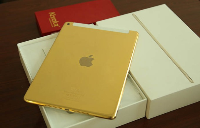 gold ipad air 2 - 1