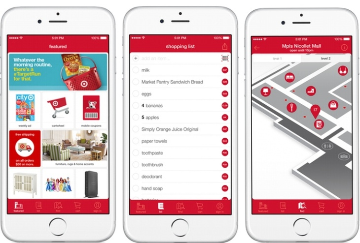Target's Mobile App Gets Indoor Mapping, Interactive Black Friday