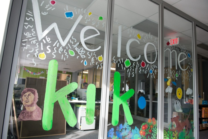 Chat App Kik Claims Higher Engagement Than Snapchat As It