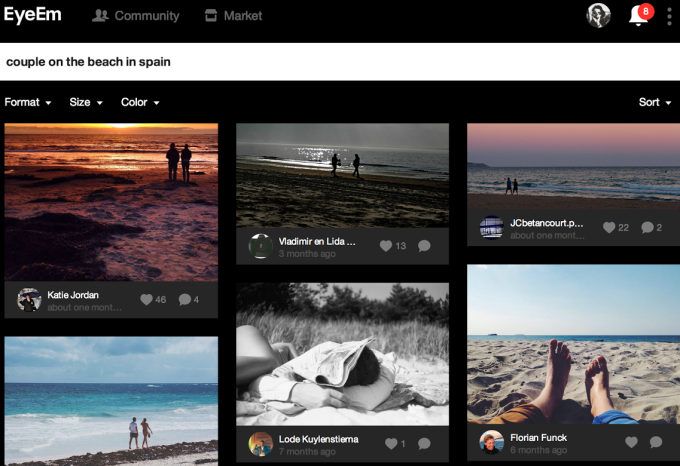 EyeEm Search