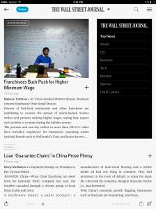 wsj on flipboard