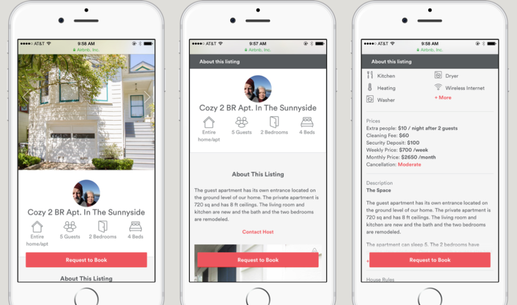 Airbnb Updates Mobile Web Experience To Court More Users On Their Smartphones Techcrunch