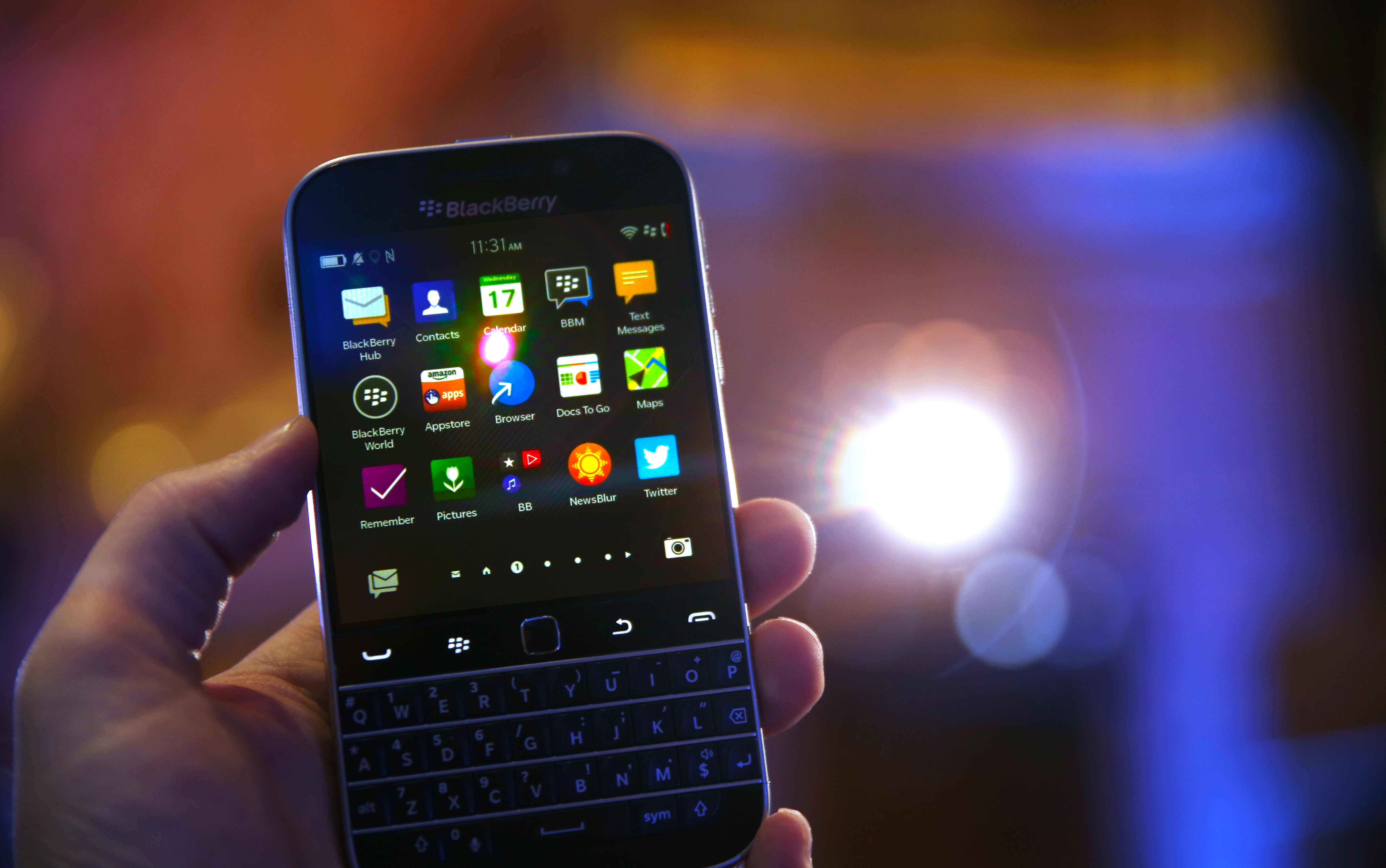 BlackBerry Classic Front