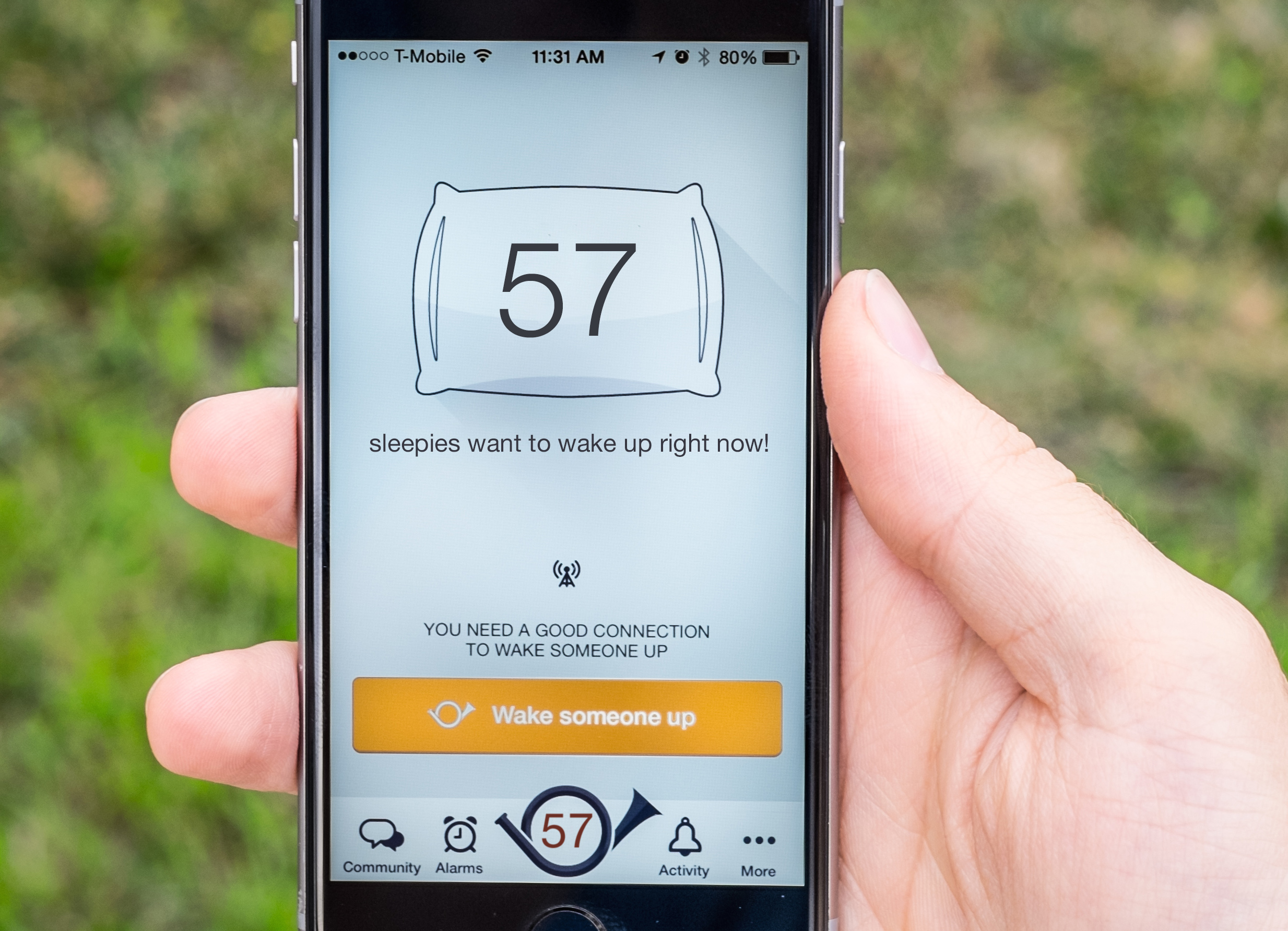 Wakie, The Social Alarm Clock That Lets You Wake Up Strangers