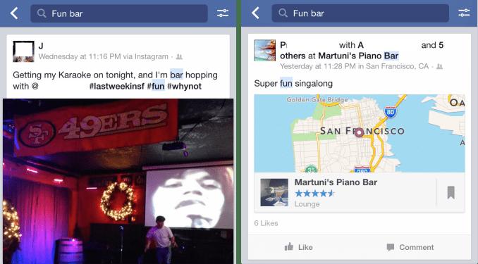 Facebook Fun Bar