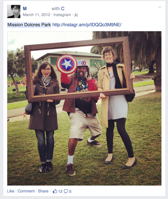 Facebook Posts Dolores Park