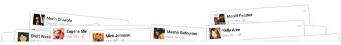 Facebook Search Boxes