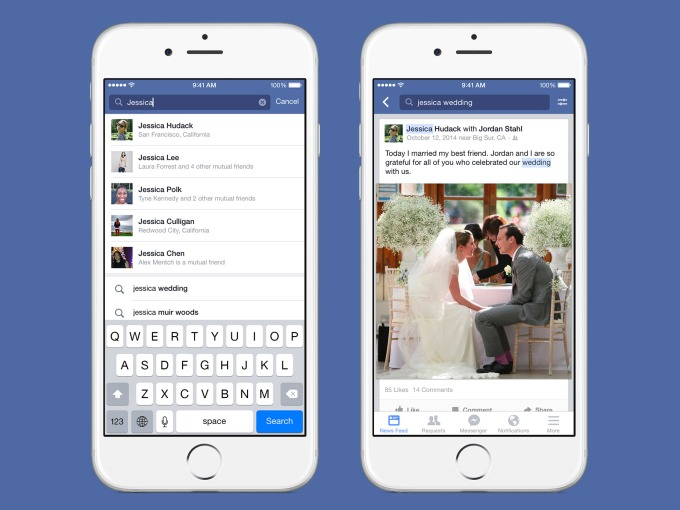 Facebook Brings Graph Search To Mobile And Lets You Find Feed Posts