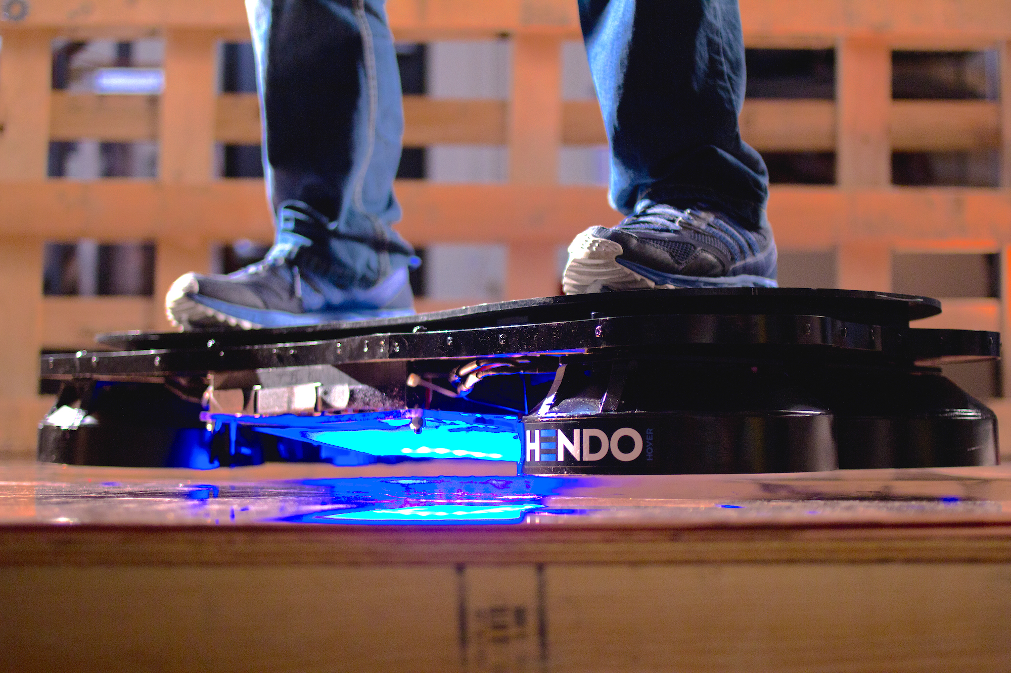 How It Feels To Ride A Real Hoverboard Techcrunch