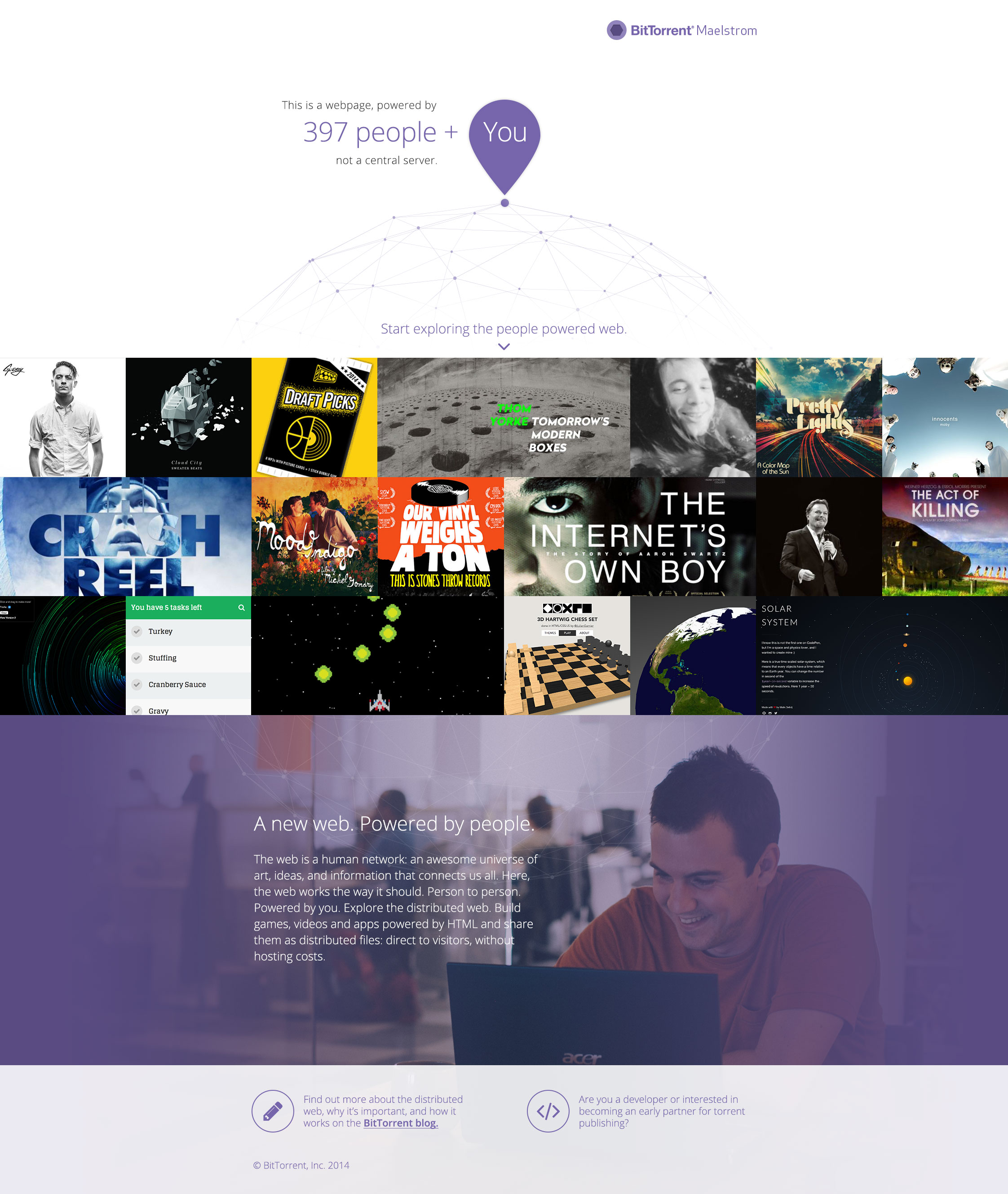 BitTorrent Opens Alpha For Maelstrom, Its New, Distributed ...