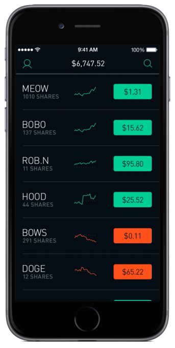 RobinHood Black