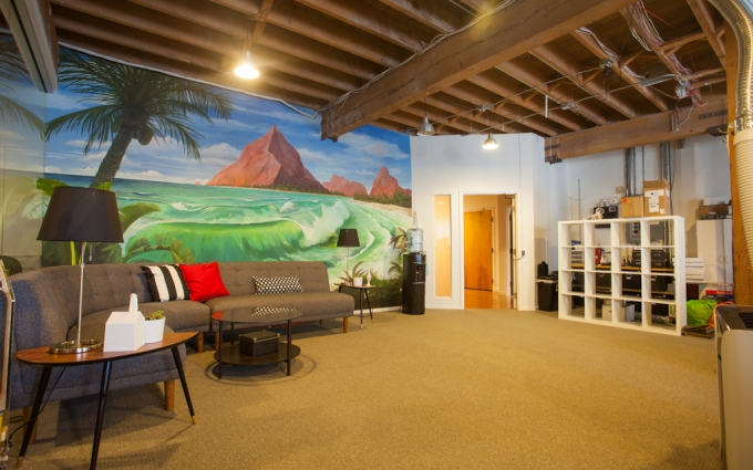 Rothenberg Ventures River VR accelerator's shared office space