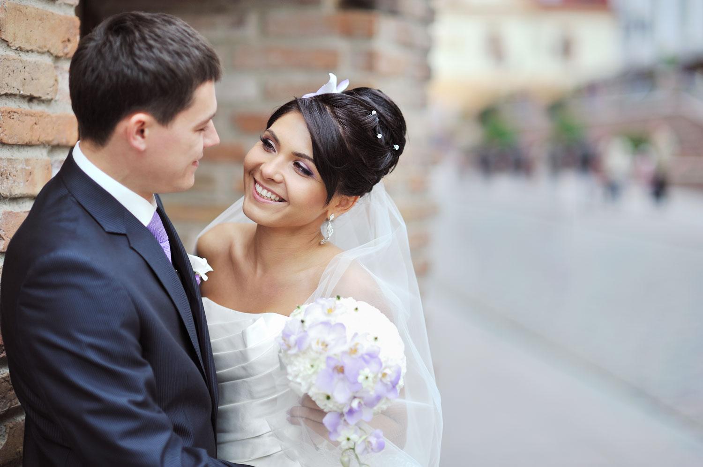 Bride and groom wedding planner