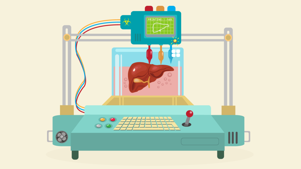 Implantable 3D-printed organs could be coming sooner than