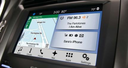 Ford S Applink Will Soon Support Third Party Navigation Apps Techcrunch