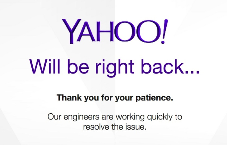 Why is yahoo still so bad at the basics techcrunch yahoo fail 3 ccuart Images