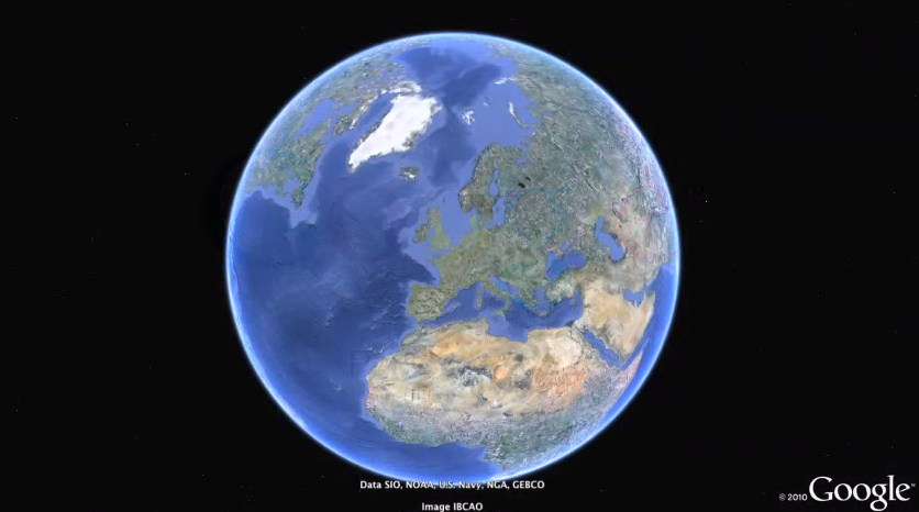 The new Google Earth becomes Chrome-exclusive