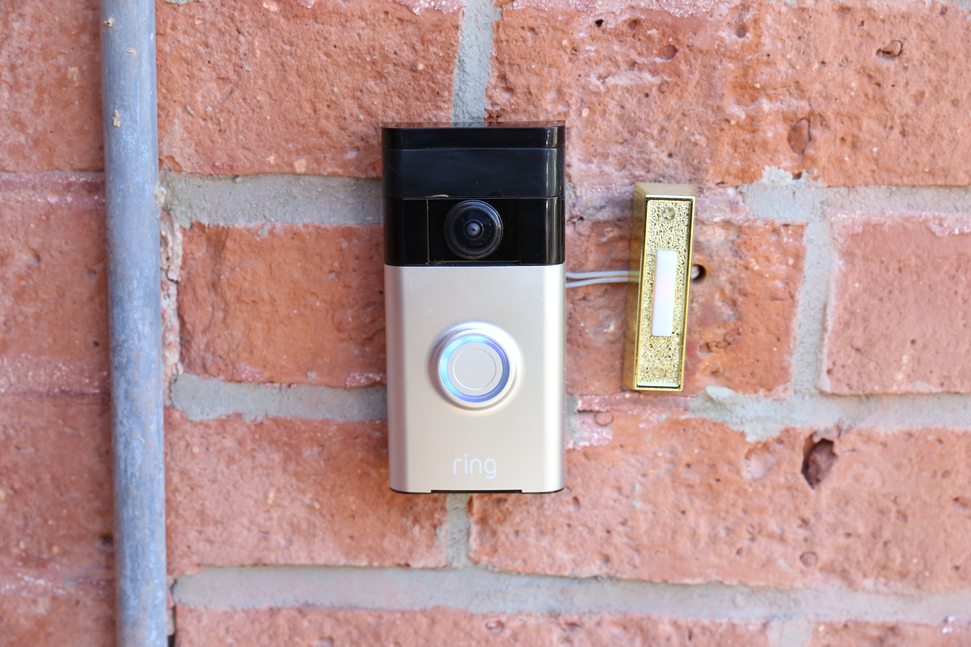 Installing Doorbell Wiring In Brick Wall House Diagram A Ring Video Review You Can Finally Tell The Delivery Guy To Rh Techcrunch Com