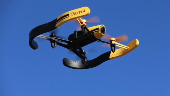 Parrot Bebop Drone Flight