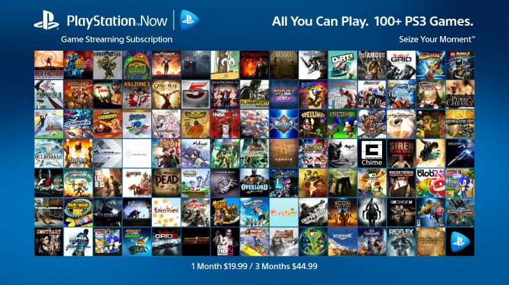 PlayStation Now's All-You-Can-Stream Game Subscriptions