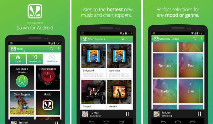 saavn android