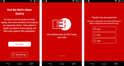 The EFF's New App Is Android-Only, As Organization Calls Out Apple