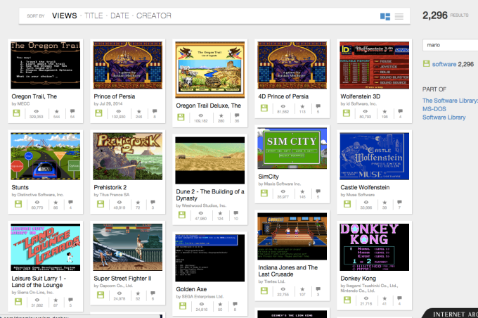Internet Archive Brings Oregon Trail, Prince Of Persia