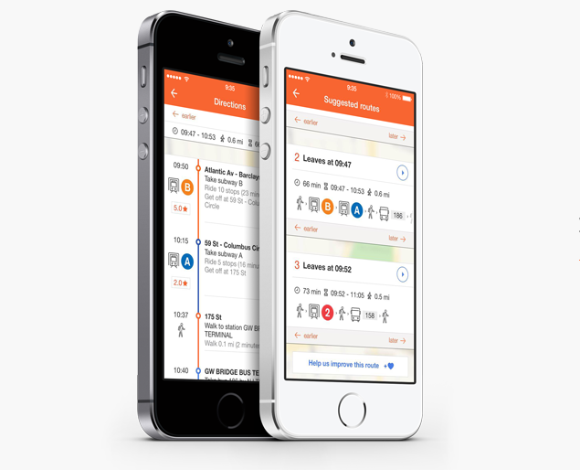 Moovit Raises $50M To Scale Its Public Transit App, Goes Up