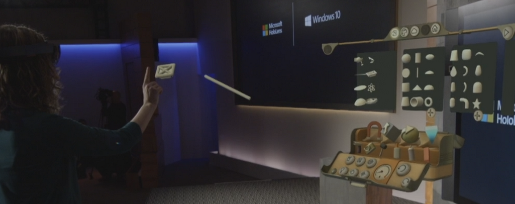 Microsoft S New Holographic Nerd Helmet Is Awesome