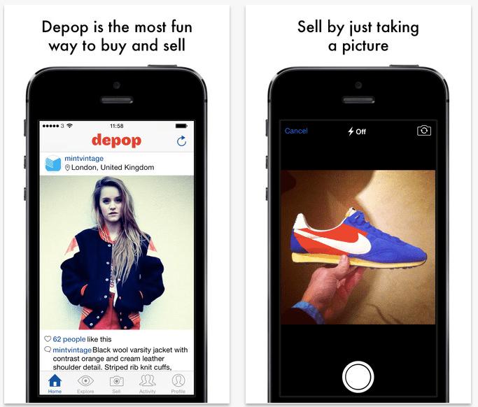 88d3efc1d968 Social Shopping App Depop Raises  8M