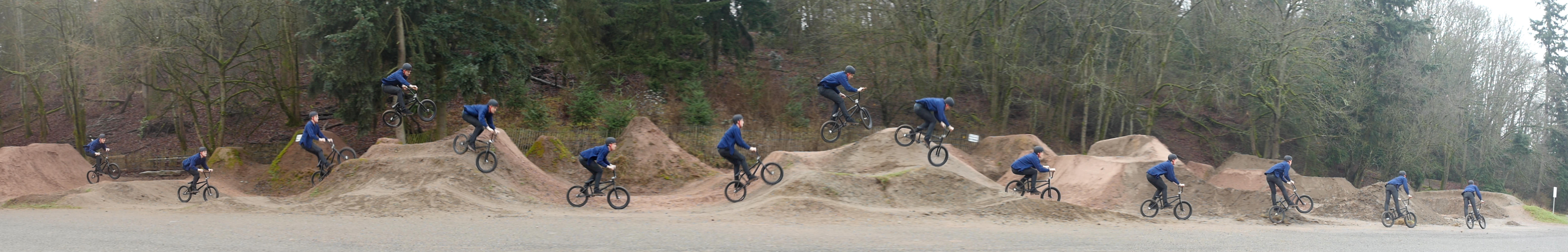 3 - dirt jumps